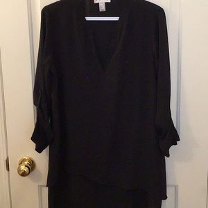 Joseph Ribkoff black tunic easy wear top